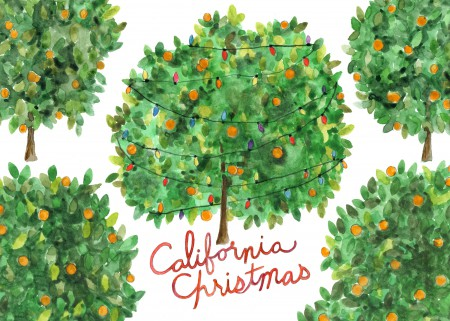 California Christmas Image