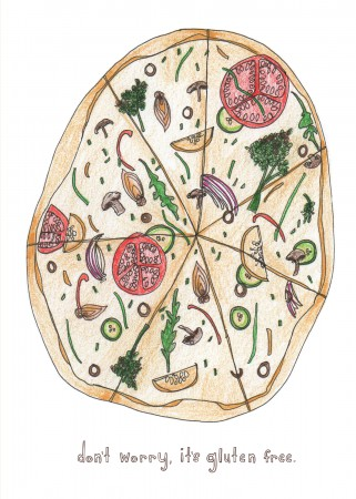 Piece of Pizza Image