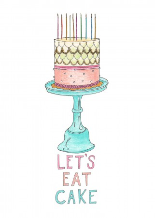 Let's Eat Cake Image