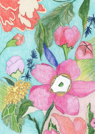 Fabric Floral Image