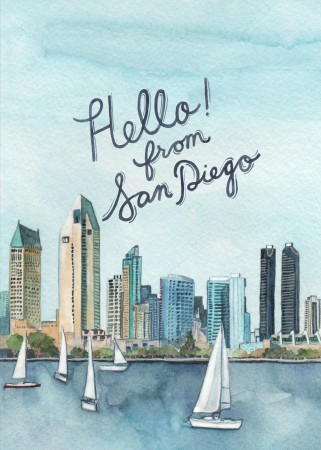 Hello San Diego Image