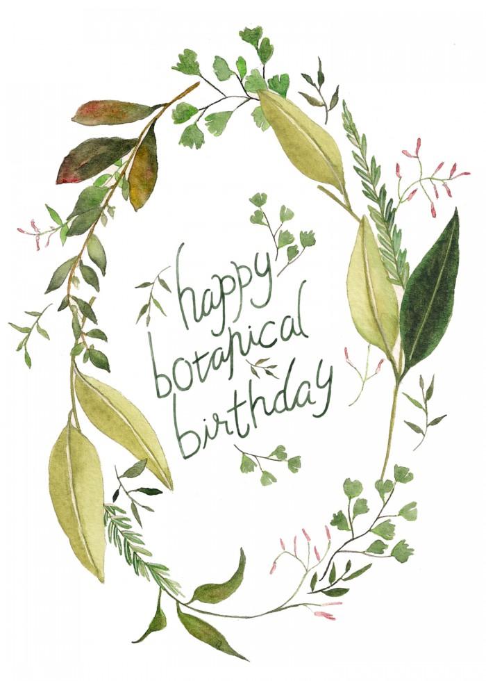 Botanical Birthday Arelor