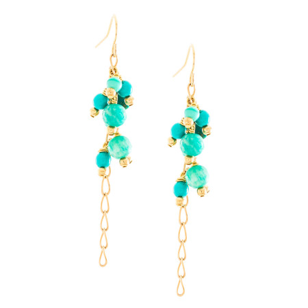 Turquoise Chain Drop Image
