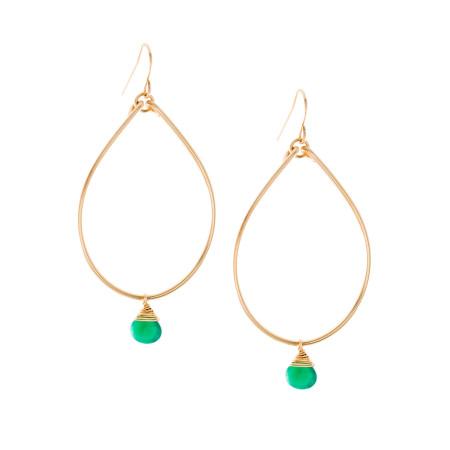 Emerald Briolette Teardrop Image