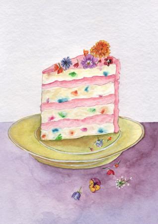 Floral Cake Image